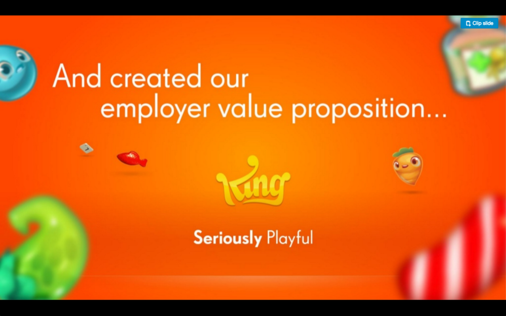 King Employer Branding EVP