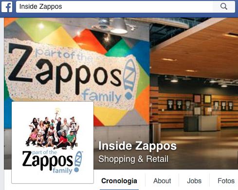 Facebook Inside Zappos