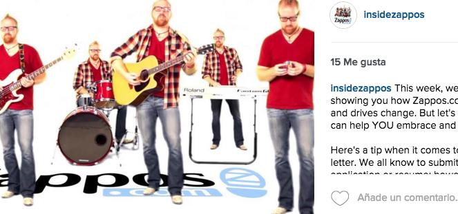 Instagram Zappos