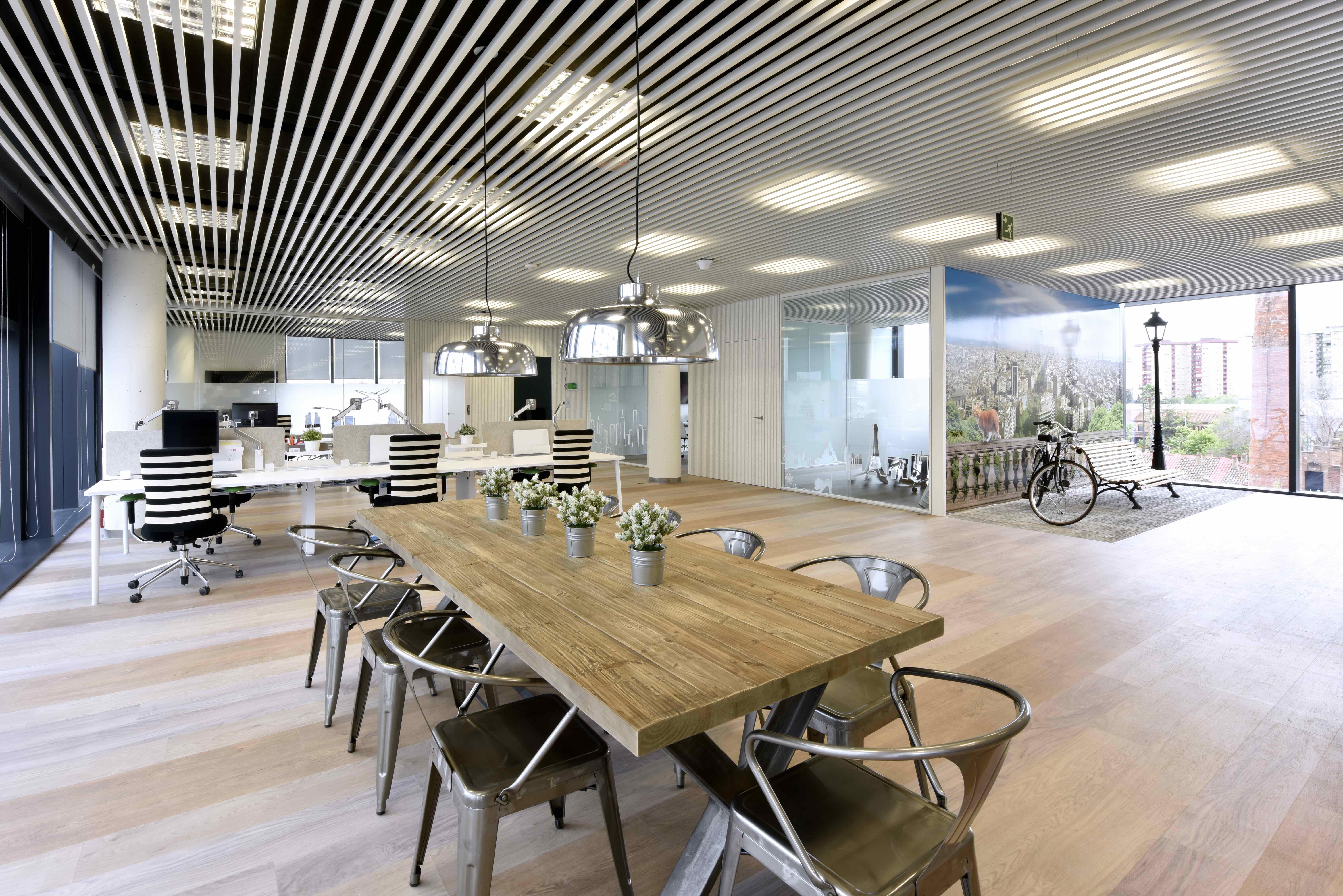 Espacio innovador y colaborativo oficinas affinity