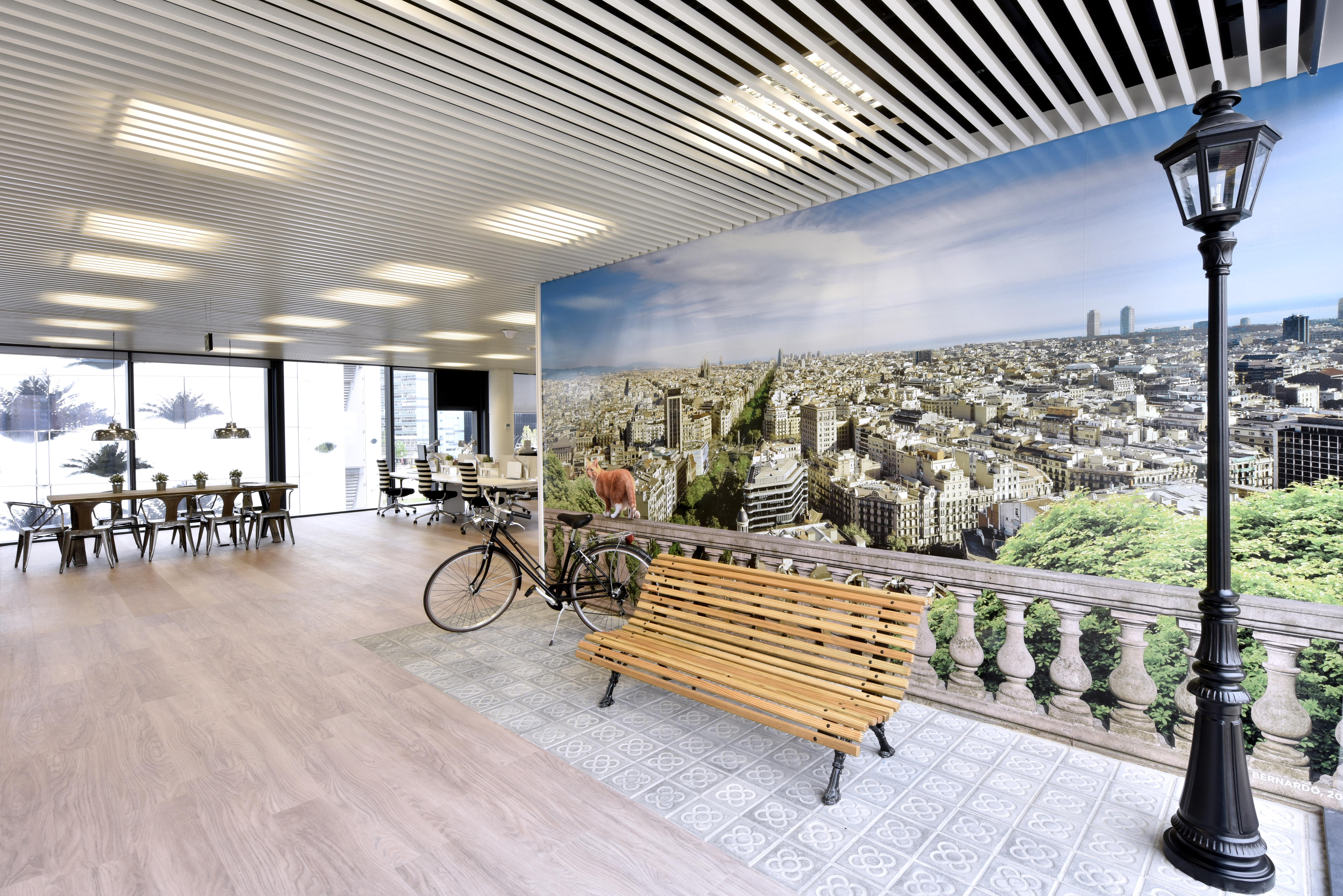 Vista Barcelona oficinas