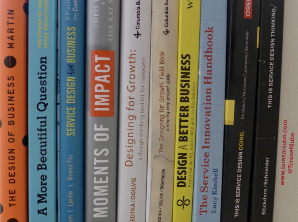Algunos libros sobre Design Thinking